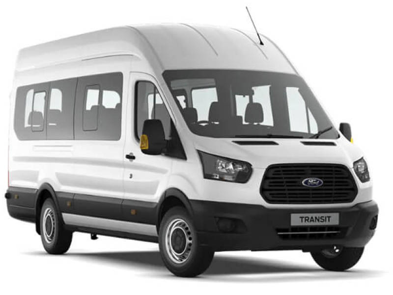 FORD TRANSIT 460 17 SEATER MINIBUS Car Hire Deals