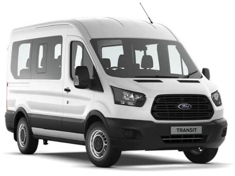 FORD TRANSIT 350 12 SEATER MINIBUS Car Hire Deals